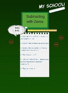subtraction with zeros's thumbnail