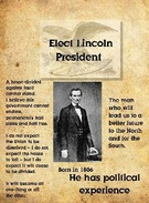 Lincoln Campaign Poster's thumbnail