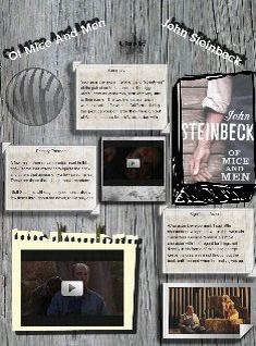 the theme of ones intellectual self in the novel of mice and men by john steinbeck Of mice and men theme and overview 1 of mice and men by john steinbeck 2 john steinbeck one of the great american writers of the 20 th century 3 the fields of of mice and men the novel deals with the issues dear to steinbeck's heart.