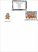 Phonological Awareness Gingerbread Page's thumbnail