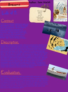 Life of pi book review by Alex