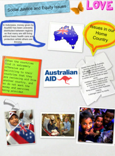 Social Justice and Equity Issues in relation to Aid in Australia