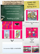 Teaching Reading in the Kindergarten Classroom's thumbnail