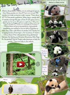 [2014] Ana Banana (Communication): Help The Pandas, There Aren't Many Left