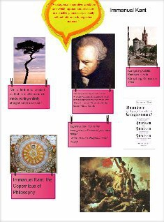 Marie's Glog of Immanuel Kant