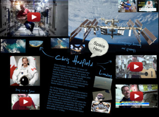 Chris Hadfield - Space Hero - Big media SPACE BUZZ