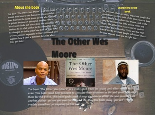 The Other Wes Moore Poster (Sarah Holcombe)