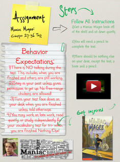 Maniac Magee (Assignment), Literature