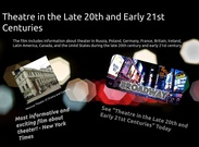 Theatre in the Late 20th and Early 21st Centuries's thumbnail