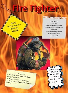 Firefighter Career Poster