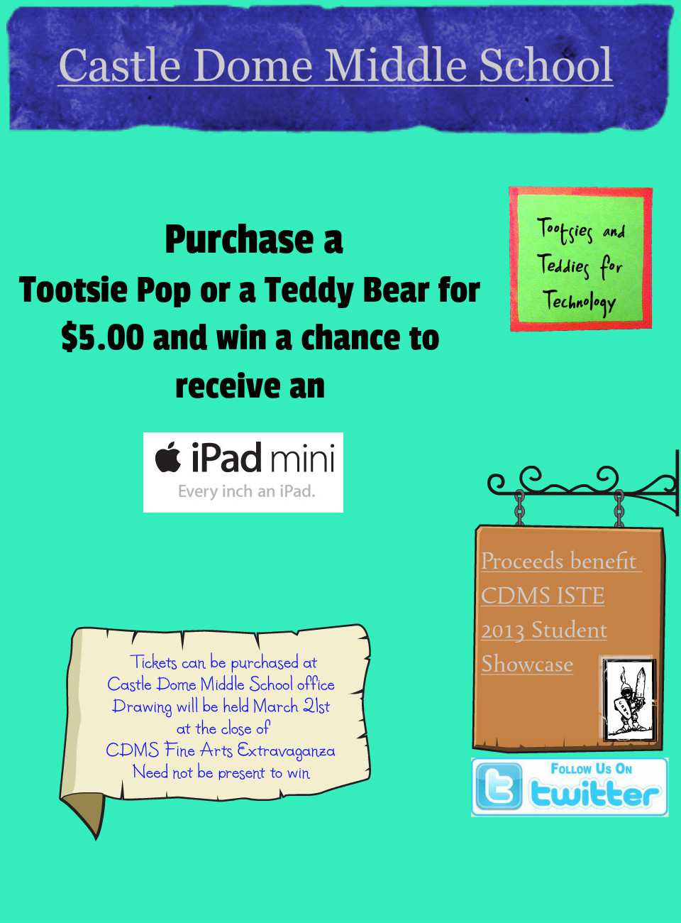 Tootsies and Teddies for Technology Poster