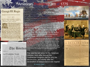 American Prohibitory act of 1775