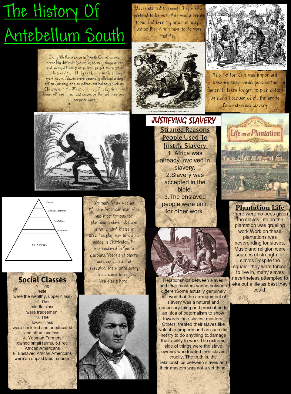 The History of Antebellum South