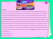 TESOL- LEARNING BASIC ENGLISH -FRONT PAGE's thumbnail