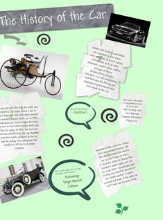 The history of the car