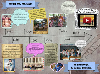 Who is Mr. Michael?  A Self Introduction
