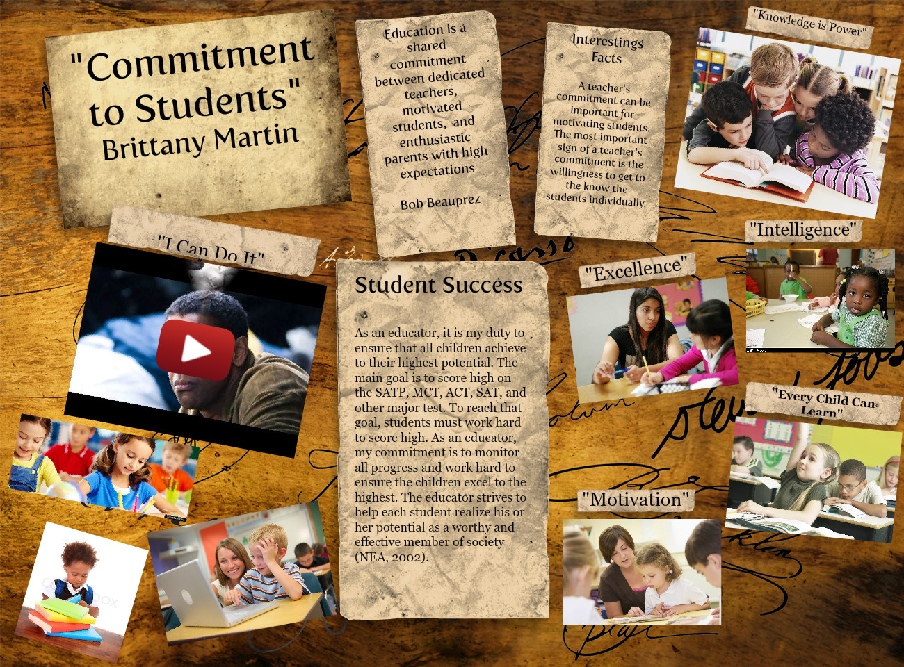 Commitment to Students