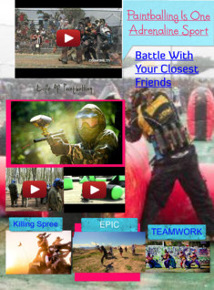 Biggie Is a Best at Paintballing