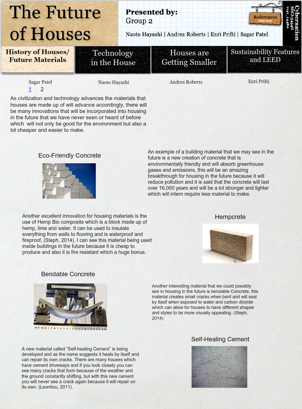 The Future of Houses - Future Materials