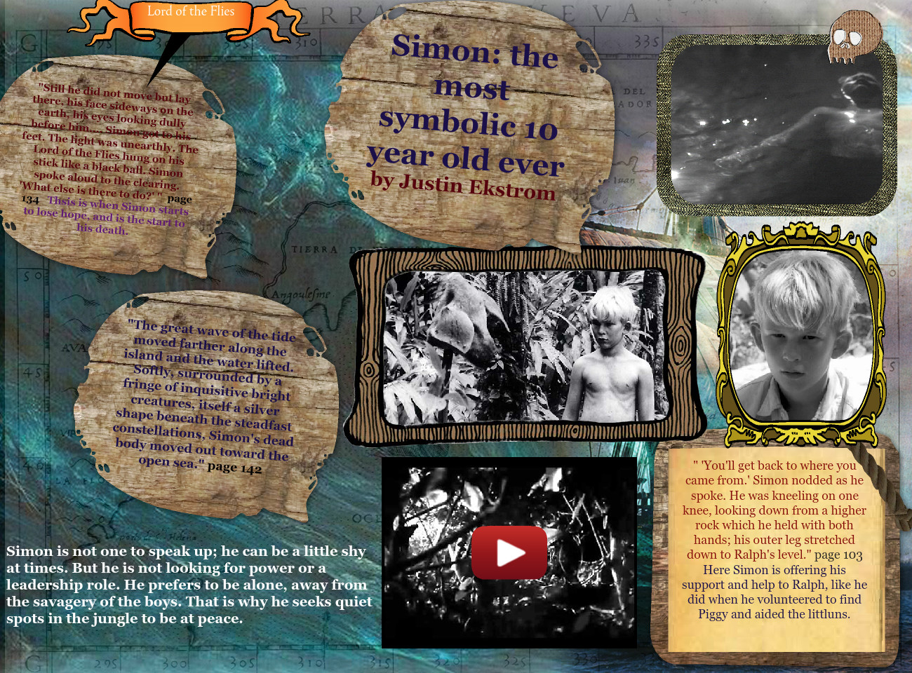 Simon: The Most Symbolic 10 Year Old Ever