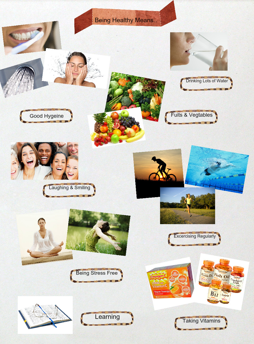 Being Healthy Means
