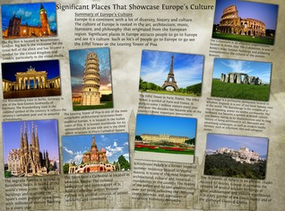 Significant Places That Showcase Europe's Culture
