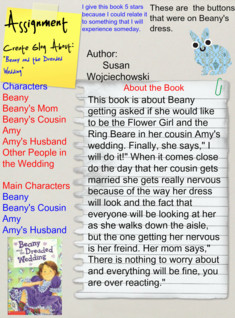 Beany and the Dreaded Wedding (Book Report)