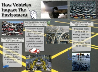 How Vehicles Impact the Enviroment