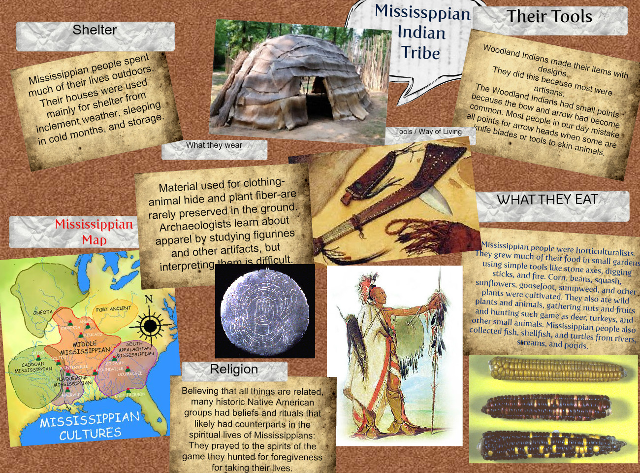 Mississippian Indian Tribe
