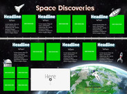 Space discoveries - template's thumbnail