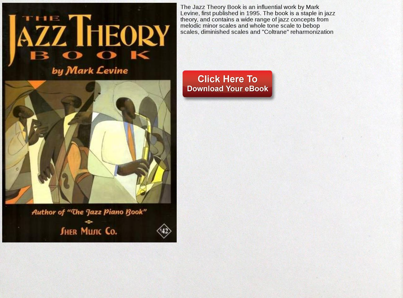 download free The Jazz Theory Book ebook PDF: text, images