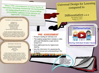 UDL and Differetatiated class