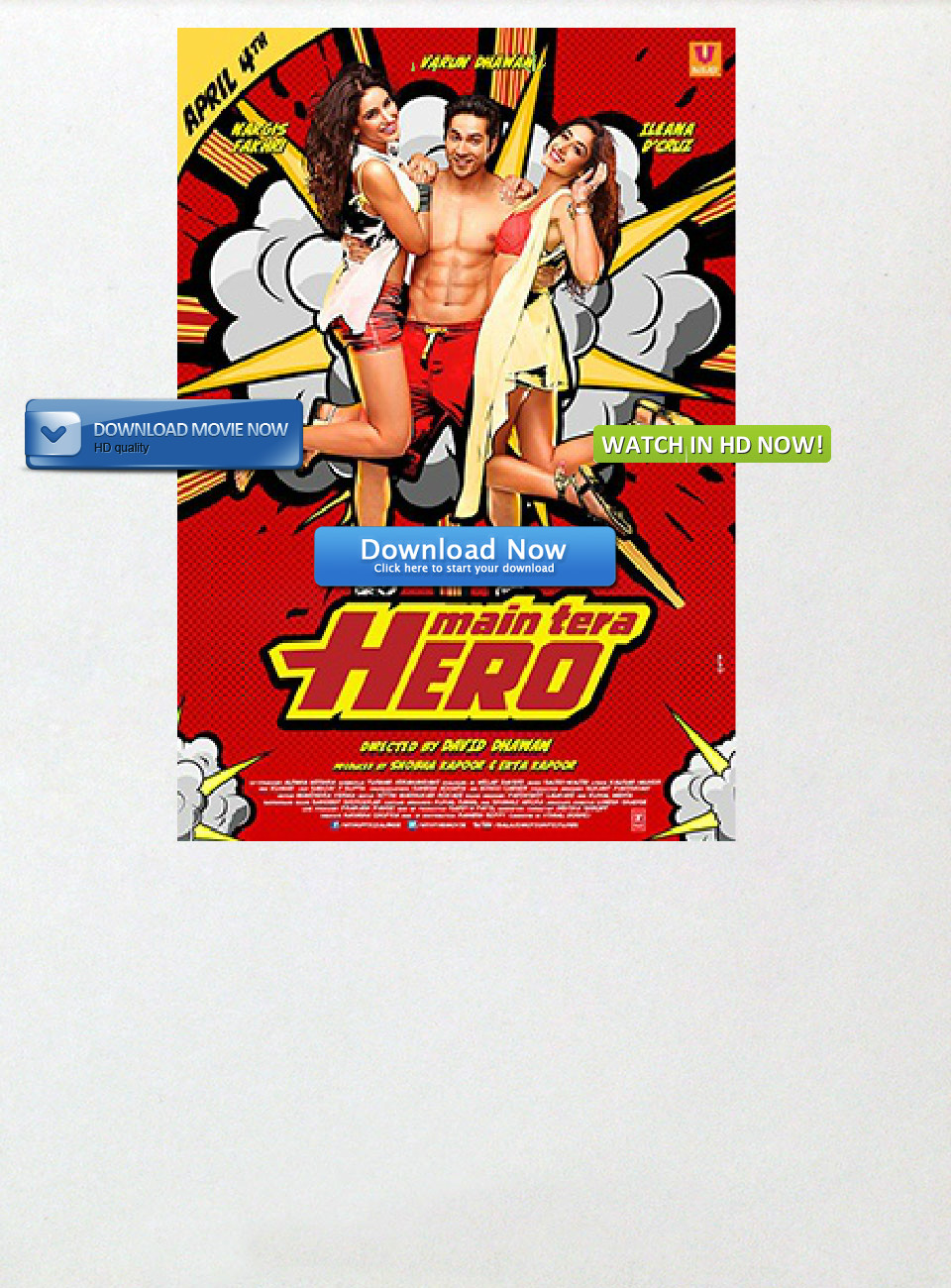 main tera hero 2014 full hd movie online text images music