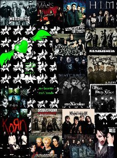 My Favorite Rock Bands \m/