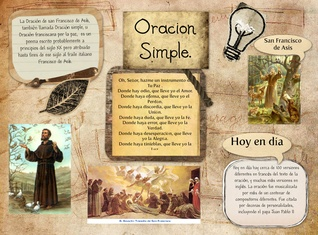 oracion simple de san francisco