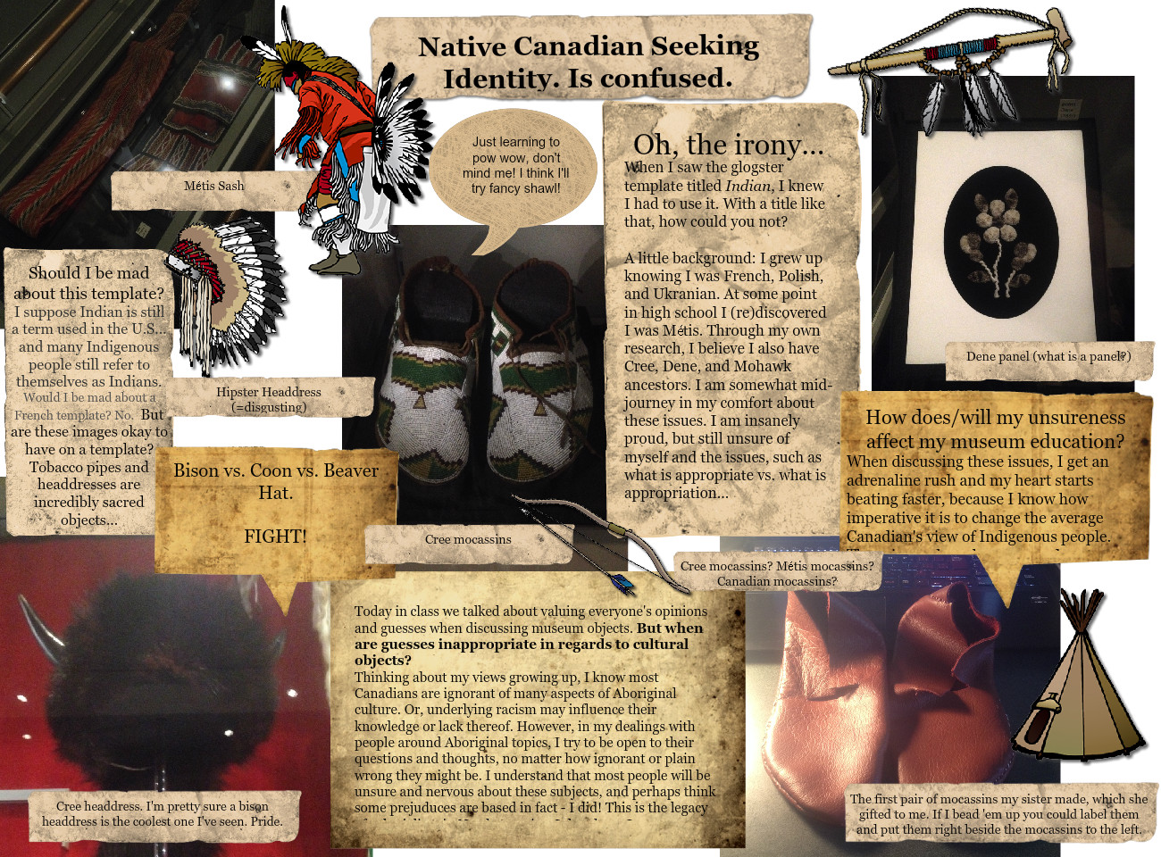 Native Canadian Seeking Identity. Is Confused.