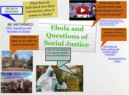 Ebola and Questions of Social Justice's thumbnail