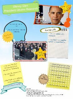 Glenny Glen President Obama Research