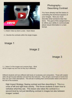 'Describe Contrast in Images' thumbnail