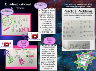 Dividing Rational Numbers 7.NS