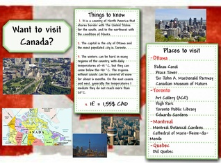 Whant to visit Canada?