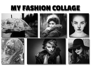 My fashion collage