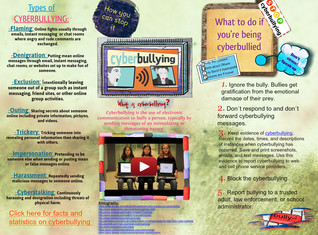 Anti-cyberbullying Poster