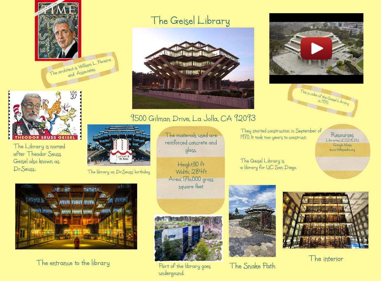 [2015] kelly murray: The Geisel Library