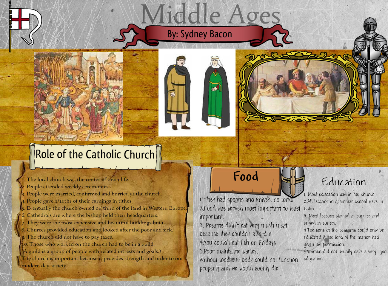 [2014] Sydney Bacon (GTT 7 - Period 3): Middle Ages