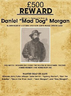 "Daniel ""Mad Dog"" Morgan Wanted Poster"