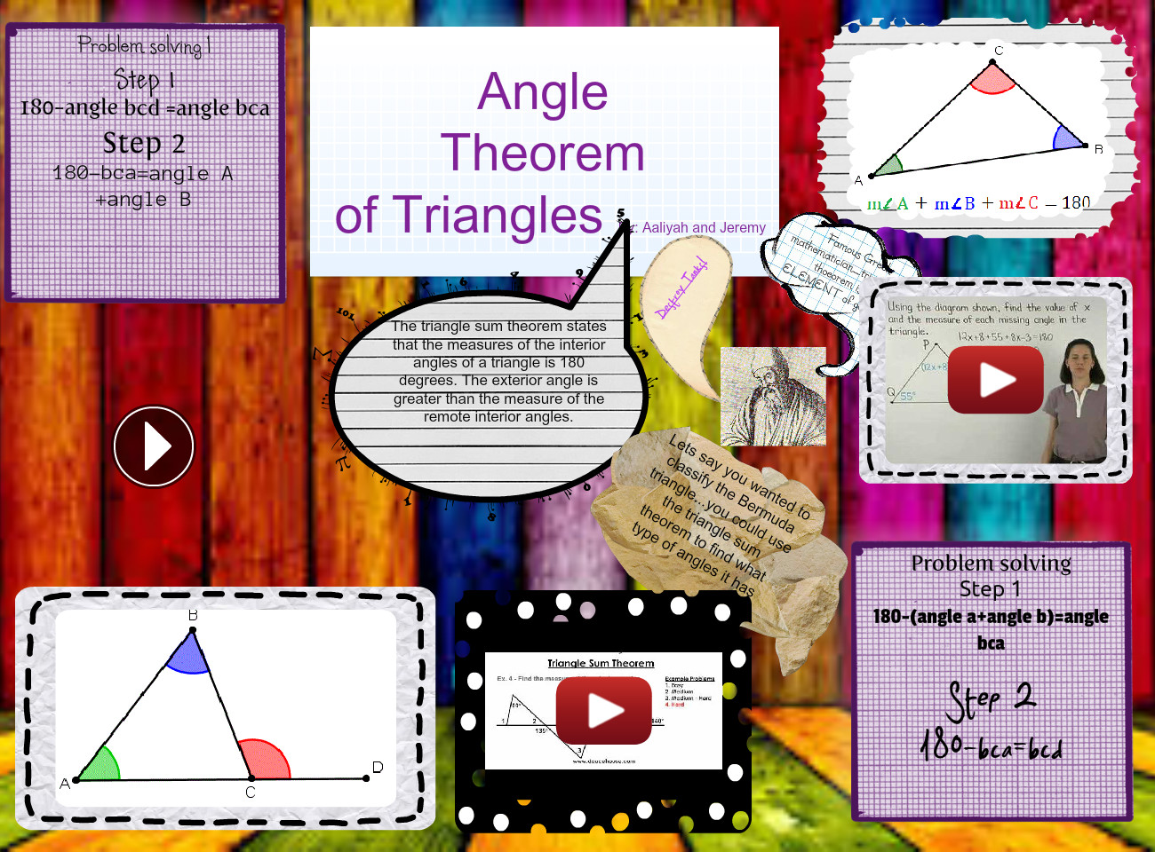angle theorem of triangle