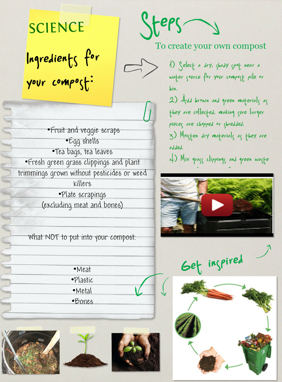 How to create a compost,(Create),Biology