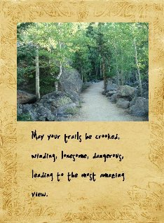 trail quote