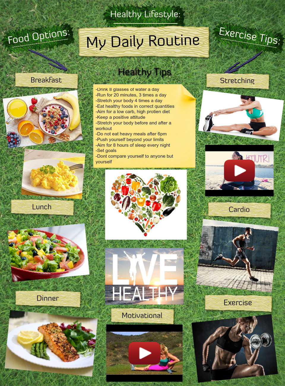 Healthy Lifestyle By Marisa
